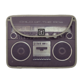 Retro Boombox Cassette Player Funny Macbook sleeve Sleeves For MacBook Pro