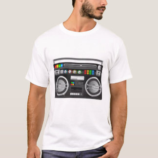 retro boombox ghetto blaster jambox T-Shirt