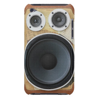 Retro Boombox iPod Cases Barely There iPod Cases