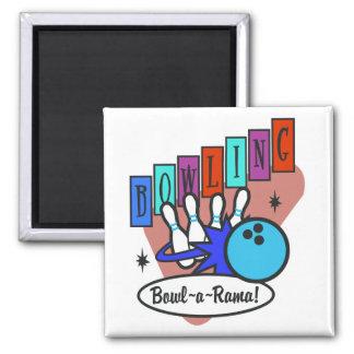 retro bowl-a-rama sign magnets