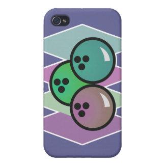 retro bowling balls design cases for iPhone 4