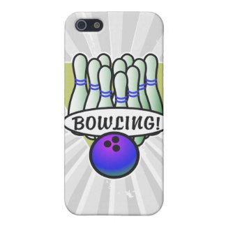 retro bowling design iPhone 5 case