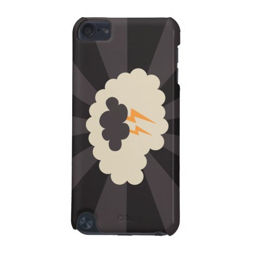 Retro brainstorming creative ideas iPod touch case