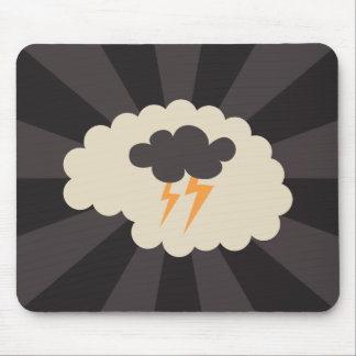 Retro brainstorming creative ideas mousepad