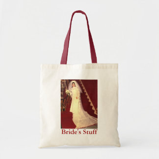 Retro Bride's Stuff Tote Bag