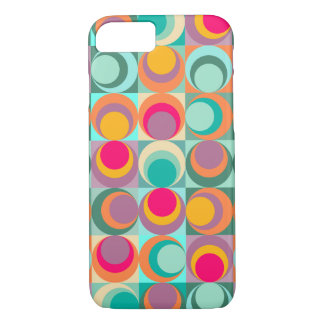 Retro Bubble Pattern iPhone 8/7 Case