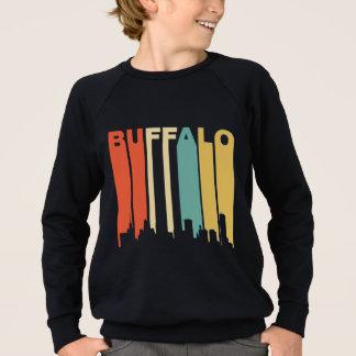 Retro Buffalo Skyline Sweatshirt