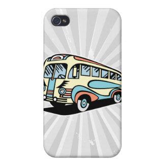 retro bus motor coach iPhone 4/4S cover