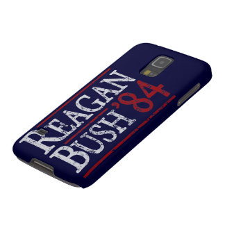 Retro Bush Reagan 84 Election Galaxy S5 Cases