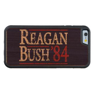 Retro Bush Reagan 84 Election Cherry iPhone 6 Bumper