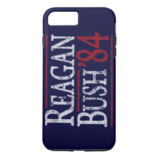 Retro Bush Reagan 84 Election iPhone 7 Plus Case