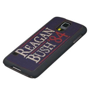 Retro Bush Reagan 84 Election Maple Galaxy S5 Case