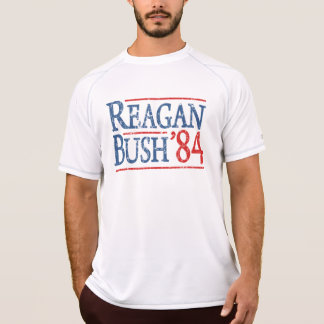 Retro Bush Reagan 84 Election T-Shirt