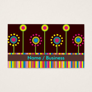 Retro Business Cards. Business Card