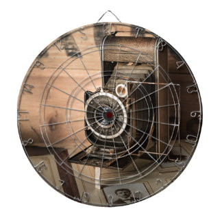 Retro Camera Dartboard