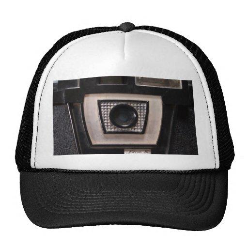 Retro camera hats