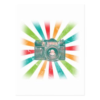 Retro Camera Postcard