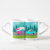 Retro Camper / Trailer and Car Lovers Mugs