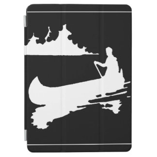 Retro Canoe Silhouette iPad Air Cover