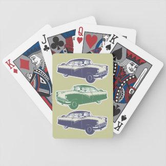 Retro Car Playing Cards