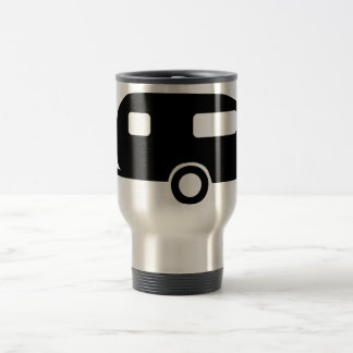Retro Caravan Stainless Steel Travel Mug