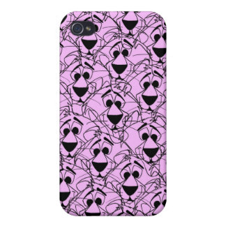 Retro cartoon pattern case for the iPhone 4