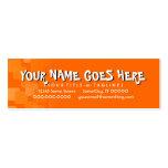 retro cascades business cards