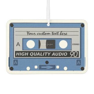 Retro Casette Tape custom air freshner Car Air Freshener