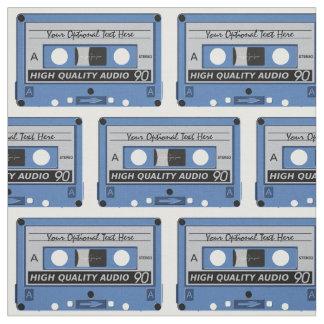 Retro Casette Tape custom fabric