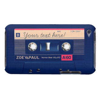 Retro Cassette Barely There iPod Cases