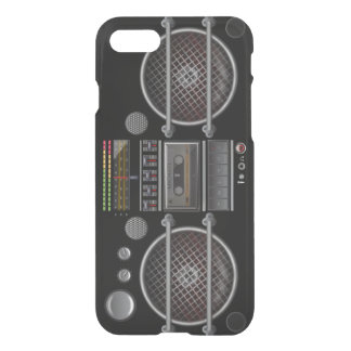 Retro Cassette Deck Stereo Ghetto Blaster iPhone 7 Case