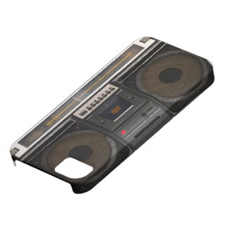 retro cassette player music hipster stereo tape iPhone 5 cases