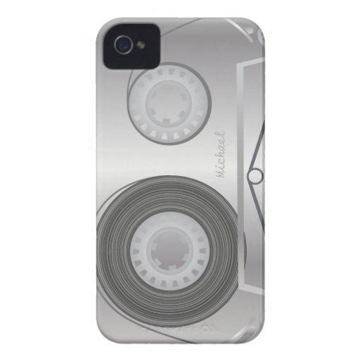 Retro Cassette Tape  Blackberry Case iPhone 4 Case