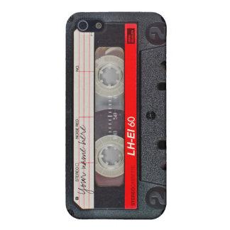 Retro cassette tape case