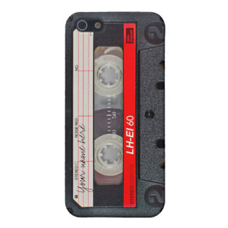 Retro cassette tape case iPhone 5/5S cases