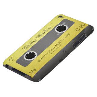 Retro Cassette Tape custom name ipod touch case