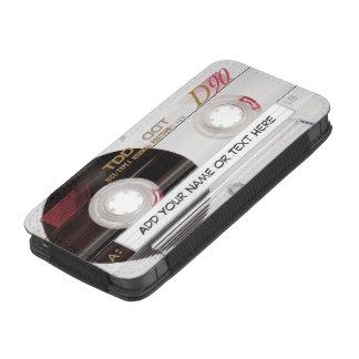 Retro Cassette Tape Look