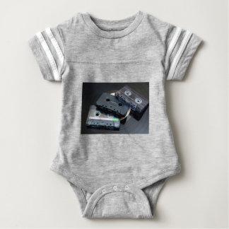 Retro Cassette Tapes Baby Bodysuit