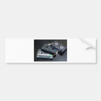Retro Cassette Tapes Bumper Sticker