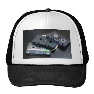 Retro Cassette Tapes Cap