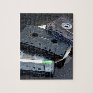 Retro Cassette Tapes Jigsaw Puzzle