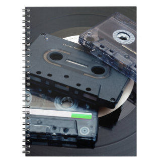 Retro Cassette Tapes Notebook