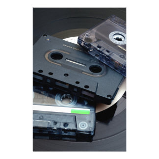 Retro Cassette Tapes Stationery