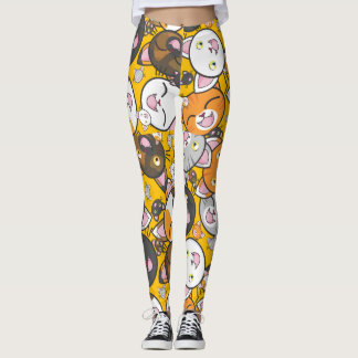 Retro Cat Leggings