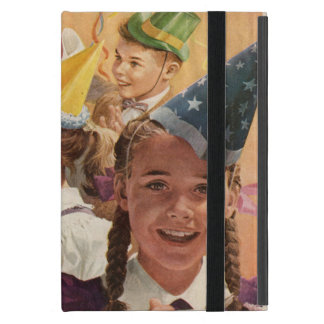 Retro Celebrations Vintage Childhood Memories Cases For iPad Mini