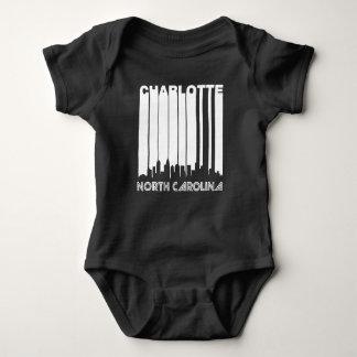 Retro Charlotte Skyline Baby Bodysuit