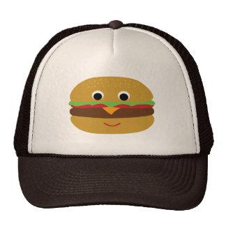 Retro Cheeseburger Mesh Hats