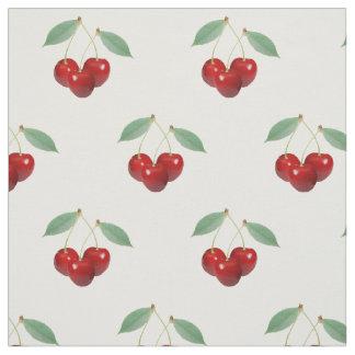 Retro Cherries Fabric
