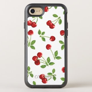 Retro Cherries OtterBox Symmetry iPhone 8/7 Case