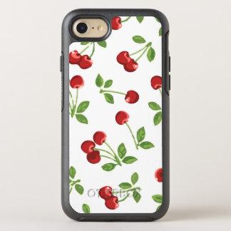 Retro Cherries OtterBox Symmetry iPhone 8/7 Case